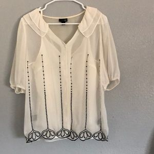Cami and blouse